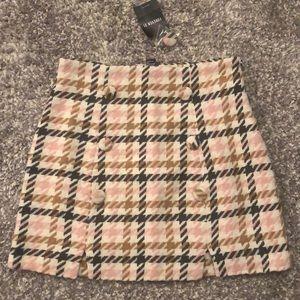 Forever 21 Tweed Skirt